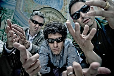 PORTRAIT OF THE BEASTIE BOYS